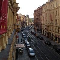 """Photo taken at Hotel Manes - Restaurace """"V Hotylku"""" by Juraj B. on 8/11/2012"""