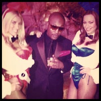 Photo taken at Playboy Mansion by KO T. on 2/13/2012