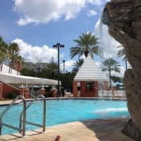 Photo taken at Hilton Grand Vacations at SeaWorld by Matthew B. on 6/2/2012