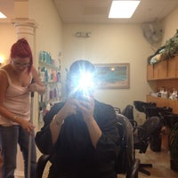 Photo taken at North Beach Salon by Zipporah S. on 8/8/2012