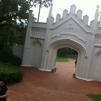 Photo taken at Fort Canning Park by Yola .. on 3/7/2012