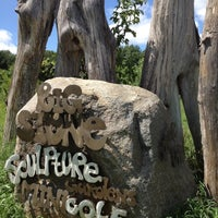 Photo taken at Big Stone Mini Golf & Sculpture Garden by Liuyin S. on 8/4/2012