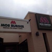 Photo taken at MOS Burger by kunihiro m. on 7/20/2012