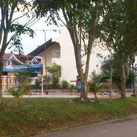 Photo taken at Lapangan Basket Cahaya Garden by bengal t. on 5/4/2012