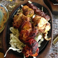 Photo taken at Bukhara Restaurant by Hossam H. on 7/1/2013