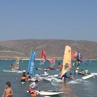 Photo taken at Club Mistral Surf Okulu by sezedo on 8/16/2013