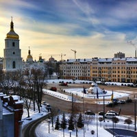Снимок сделан в Hyatt Regency Kiev пользователем Anton S. 1/24/2013