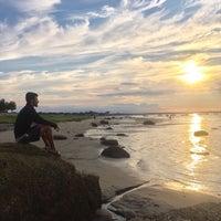 Photo taken at Millway Beach by Gökhan Ç. on 8/9/2017