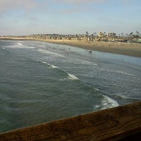 Photo taken at Newport Pier by Ernesto M. on 11/25/2012