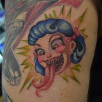 Photo taken at The Experience Ink Tattoo and Smoke Shop by Vin A. on 4/24/2013