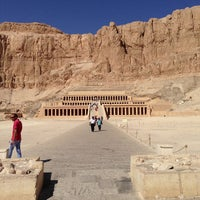 Photo taken at Mortuary Temple of Hatshepsut by Ullrich S. on 10/29/2012