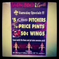 Photo taken at VooDoo BBQ & Grill Uptown by Steven R. on 10/21/2012