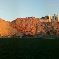Photo taken at Δημοτικό Στάδιο Υμηττού by johnnie d. on 7/26/2016