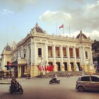 Photo taken at Nhà Hát Lớn Hà Nội (Hanoi Opera House) by Sergi V. on 4/27/2013