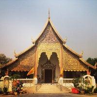 Photo taken at Wat Chiang Man by Sergi V. on 3/17/2013