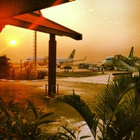 Photo taken at Siem Reap International Airport (REP) by Sergi V. on 3/5/2013