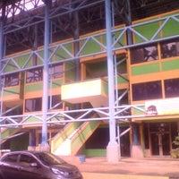 Photo taken at Stadion Lebak Bulus by Adang S. P. on 11/2/2013
