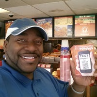 Photo taken at Popeyes Chicken & Biscuits by Shack N. on 3/31/2014
