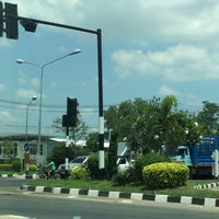 Photo taken at Krasang Intersection by Jack T. on 4/8/2017