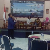 Photo taken at Gedung Dewan Pers by Muhammad S. on 9/12/2014