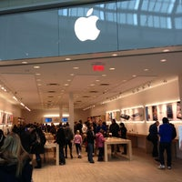 Photo taken at Apple Carrefour Laval by Ludovic E. on 2/15/2013
