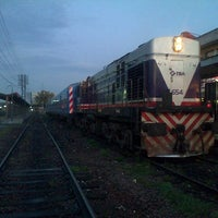 Photo taken at Estación Merlo [Línea Sarmiento] by Marcelo M. on 9/28/2013
