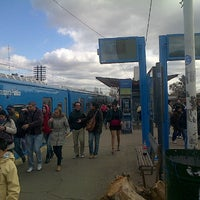 Photo taken at Estación Merlo [Línea Sarmiento] by Marcelo M. on 7/7/2013