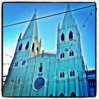 Photo taken at Minor Basilica of San Sebastian (Shrine of Our Lady Of Mount Carmel) by Anne C. on 11/25/2012