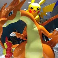 Photo taken at Pokémon Center Mega Tokyo by yu on 12/14/2014