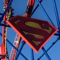Photo taken at Superman Ultimate Flight by Joods H. on 10/28/2012