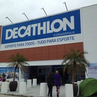 Photo taken at Decathlon by Bruno S. on 10/3/2013