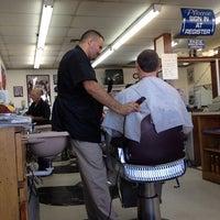 Photo taken at Tom & Jake's Barber Shop by Yvette M. on 11/12/2013
