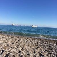 Photo taken at Plaj by Gamze 💭 on 1/29/2017