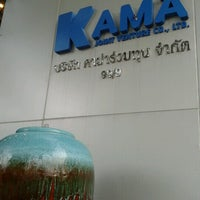 Photo taken at Kama Joint Venture Co., Ltd. by Pongsthorn R. on 11/8/2012