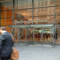 Photo taken at The New York Times Building by Tomoko H. on 8/20/2013