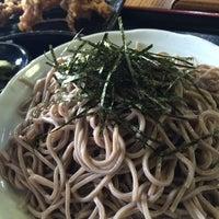 Photo taken at そば処 えびす by technodelic on 10/28/2014