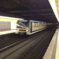 Photo taken at Metro Sondrio (M3) by Andreas E. on 11/24/2012