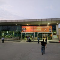 Photo taken at Delhi Aerocity Metro Station by Andreas E. on 9/21/2017