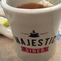 Photo taken at Majestic Diner by Malina L. on 4/8/2016