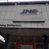 Photo taken at JNE Express by christine c. on 5/11/2013