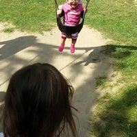 Photo taken at Dudenhofen Park by Knan Y. on 6/18/2014