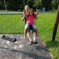 Photo taken at Dudenhofen Park by Knan Y. on 8/5/2014