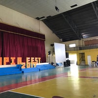 Photo taken at DWCL Gymnasium by Aprille V. on 2/4/2017