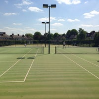 Photo taken at campden hill lawn tennis club by Anna K. on 5/3/2014