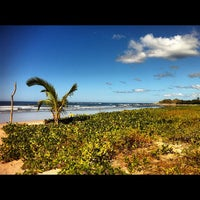 Photo taken at Playa Guiones by Chad M. on 11/27/2012