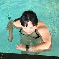 Photo taken at Park Hyatt Swimming Pool by Novy A. on 10/1/2016