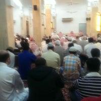 Photo taken at جامع علي بن ابي طالب رضي الله عنه by Mohammad A. on 4/4/2014