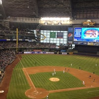 Photo taken at Miller Park by Aaron M. on 5/27/2013