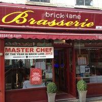 Photo taken at Brick Lane Brasserie by Howard S. on 3/13/2013