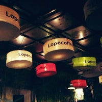 Photo taken at Lopecoffee by Ghea A. on 5/10/2014